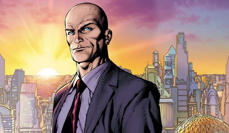 Comic cover of Lex Luthor