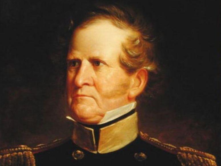 General Winfield Scott in the Mexican-American War