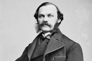 Photograph of New York Times founder Henry J. Raymond