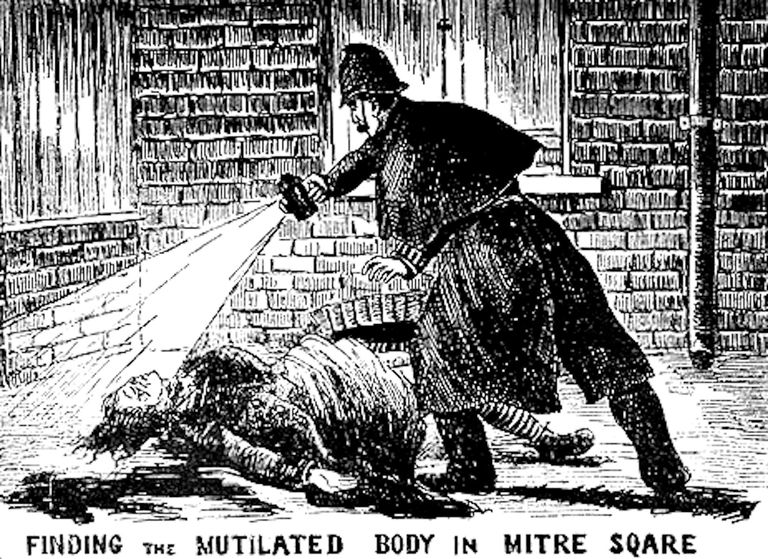 Jack the Ripper Illustration 1888