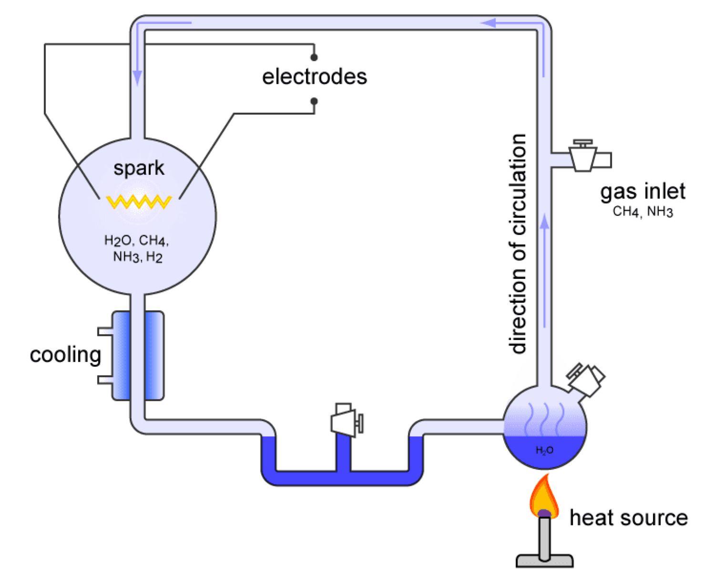 Diagram of primordial soup