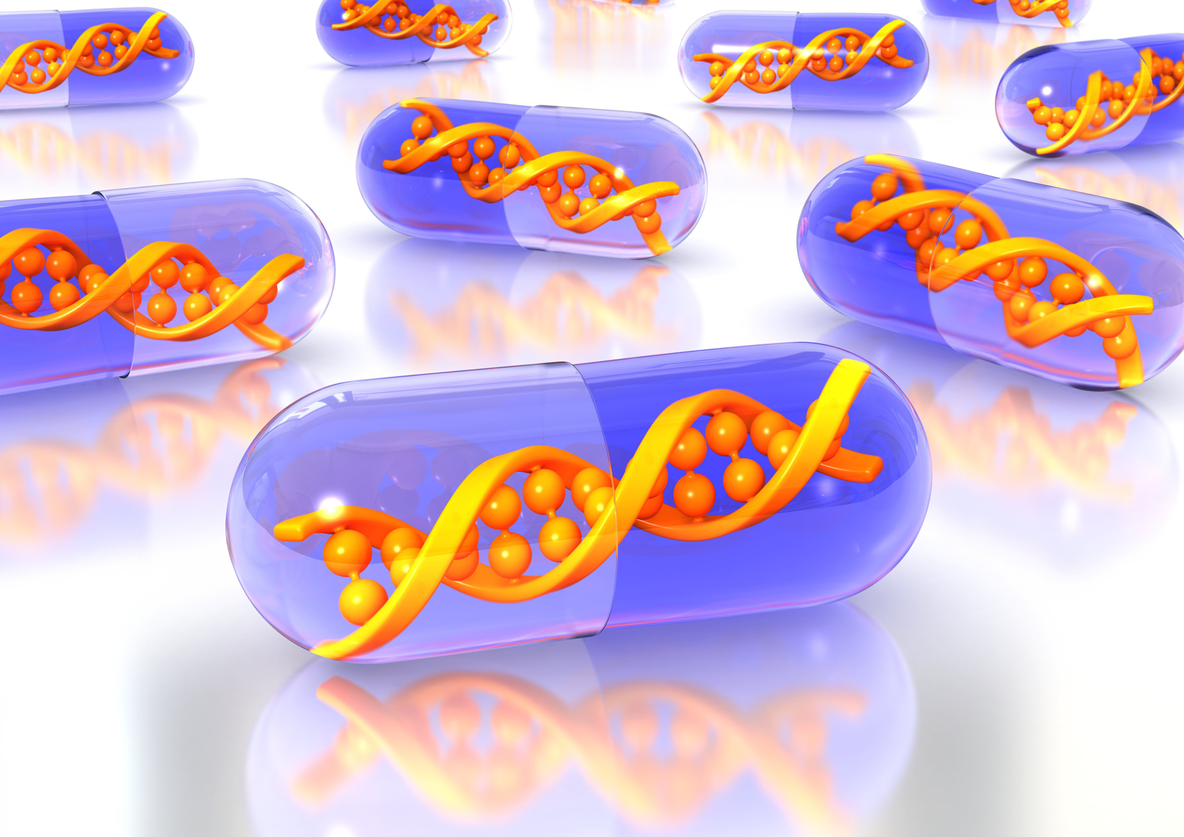 CRISPR can be used to develop new drugs used for gene therapy.