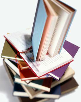 Stack of School Books