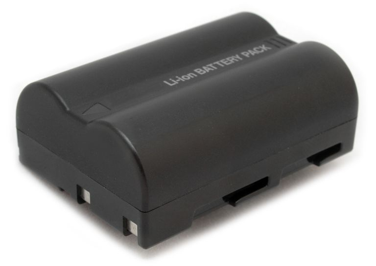 Digital SLR rechargeable lithium-ion battery