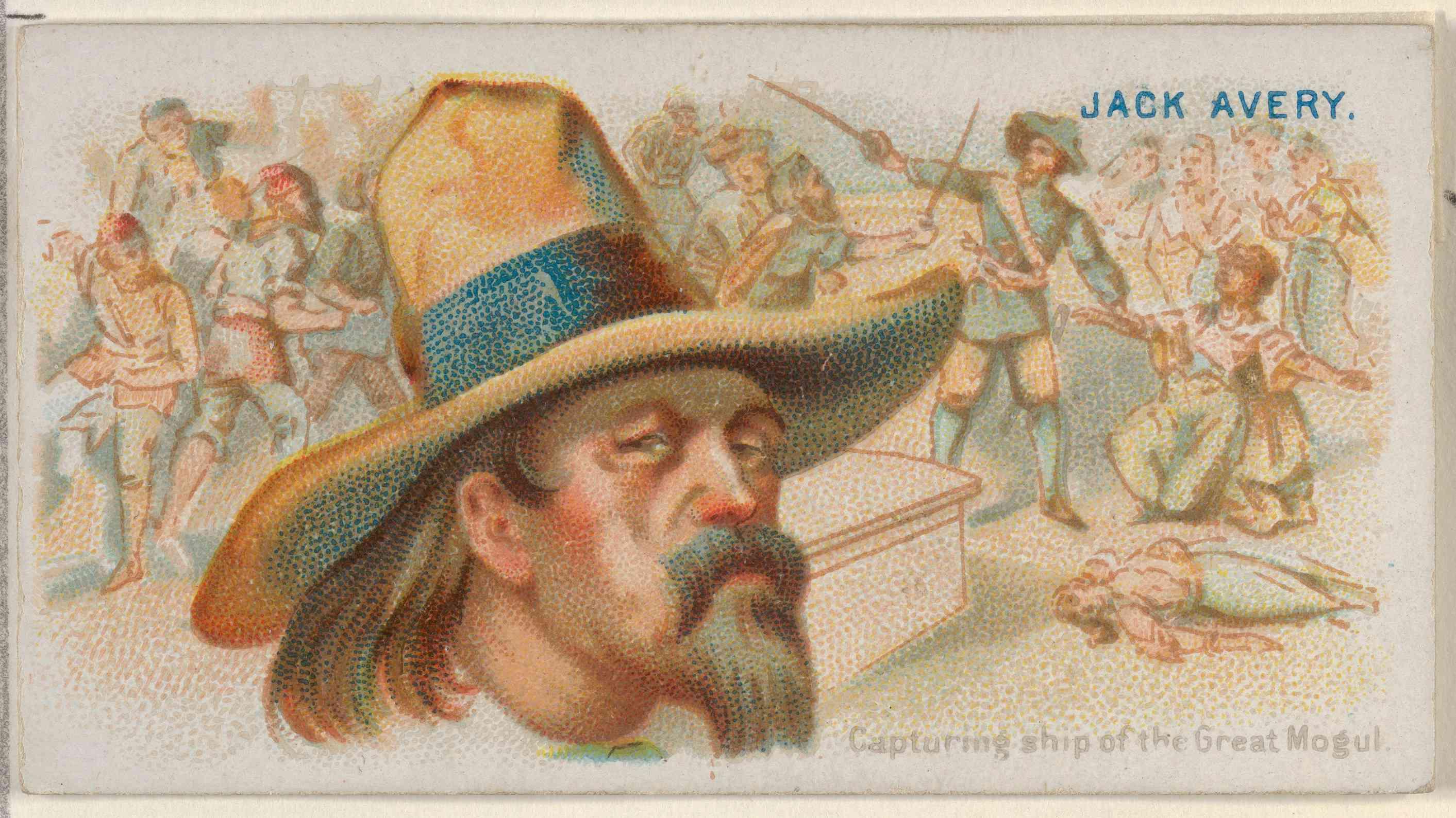 Henry Avery pirate
