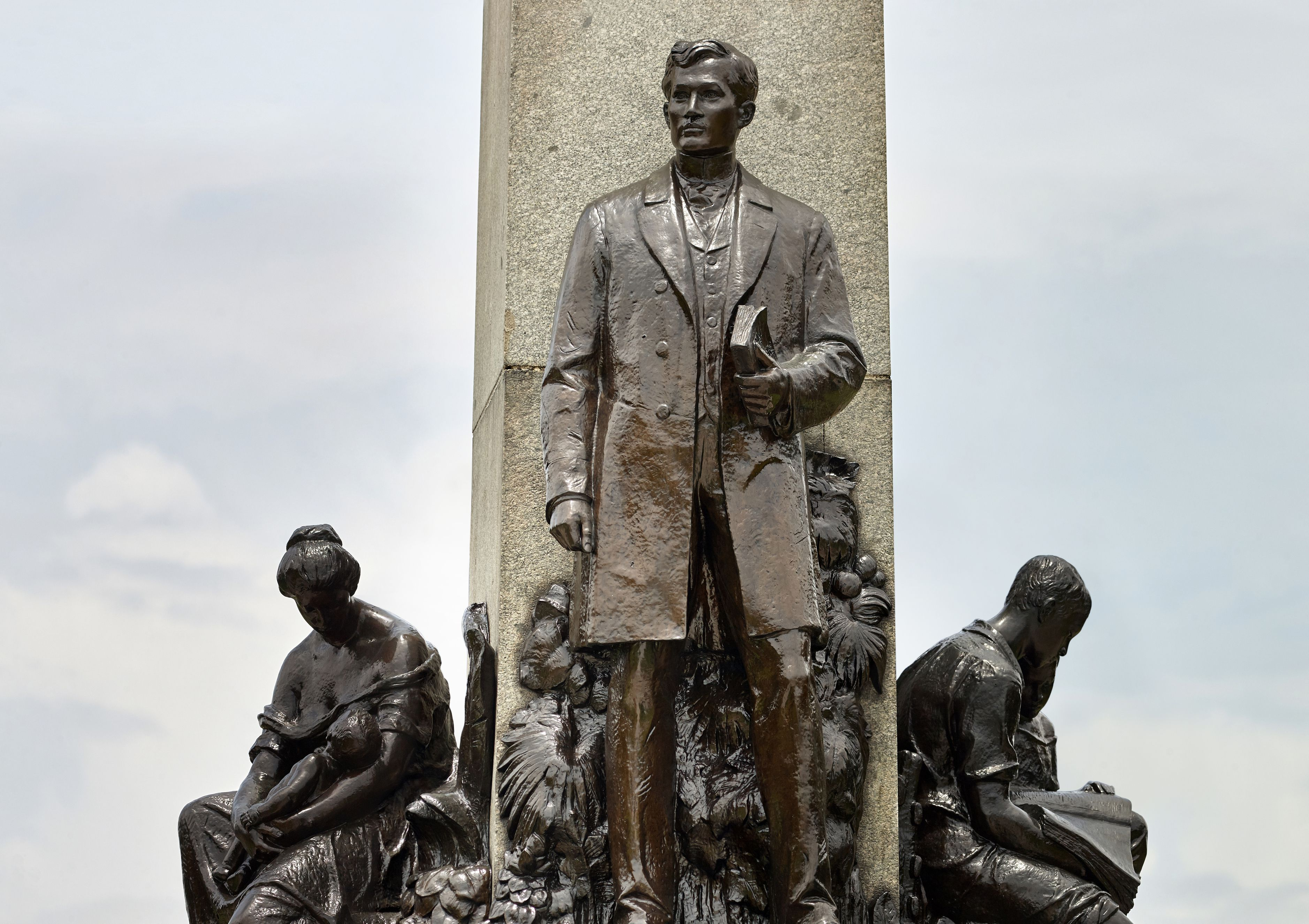 A José Rizal Monument in Manila, Philippines
