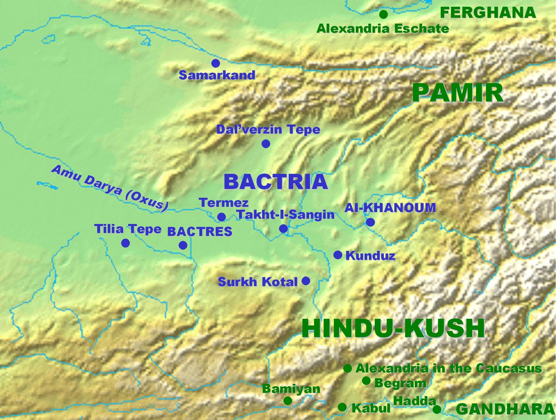 Where Is Bactria And What Is Its History