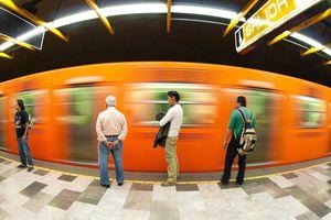 Mexico City subway metro