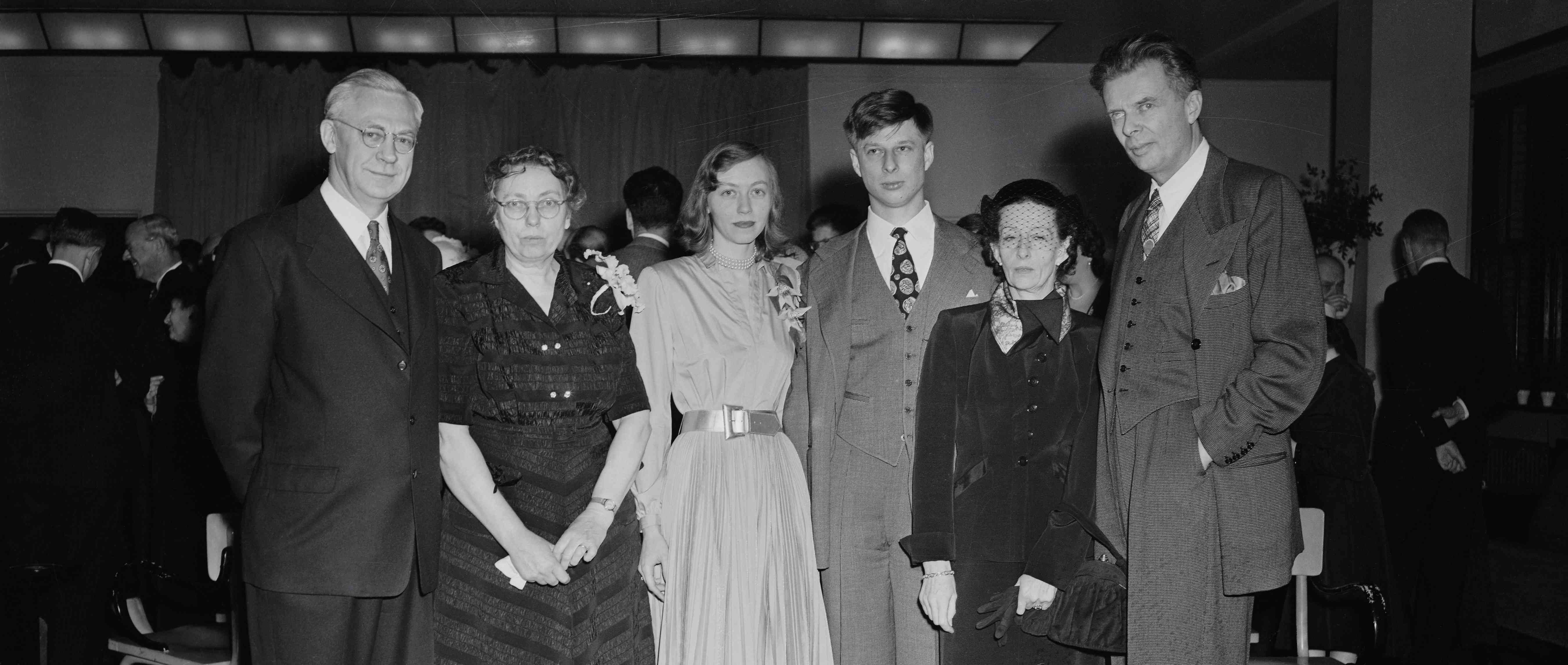 Aldous Huxley and Family