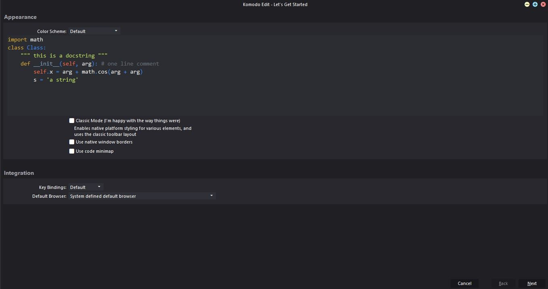 Komodo Edit HTML editor