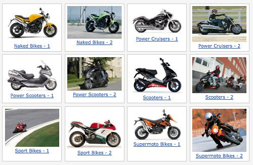 Motorcycle Bike Types