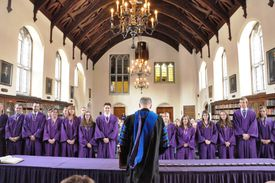 Phi Beta Kappa Induction Ceremony at Elmira College