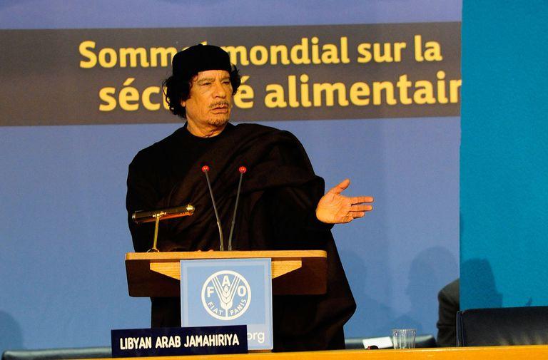 Muammar el Qaddafi