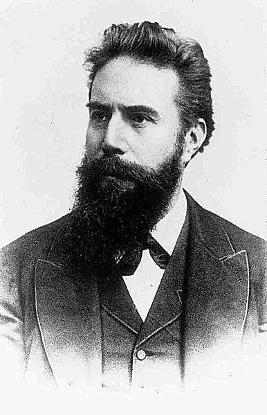 Wilhelm Conrad Röntgen or Roentgen (1845-1923), discoverer of x-rays.