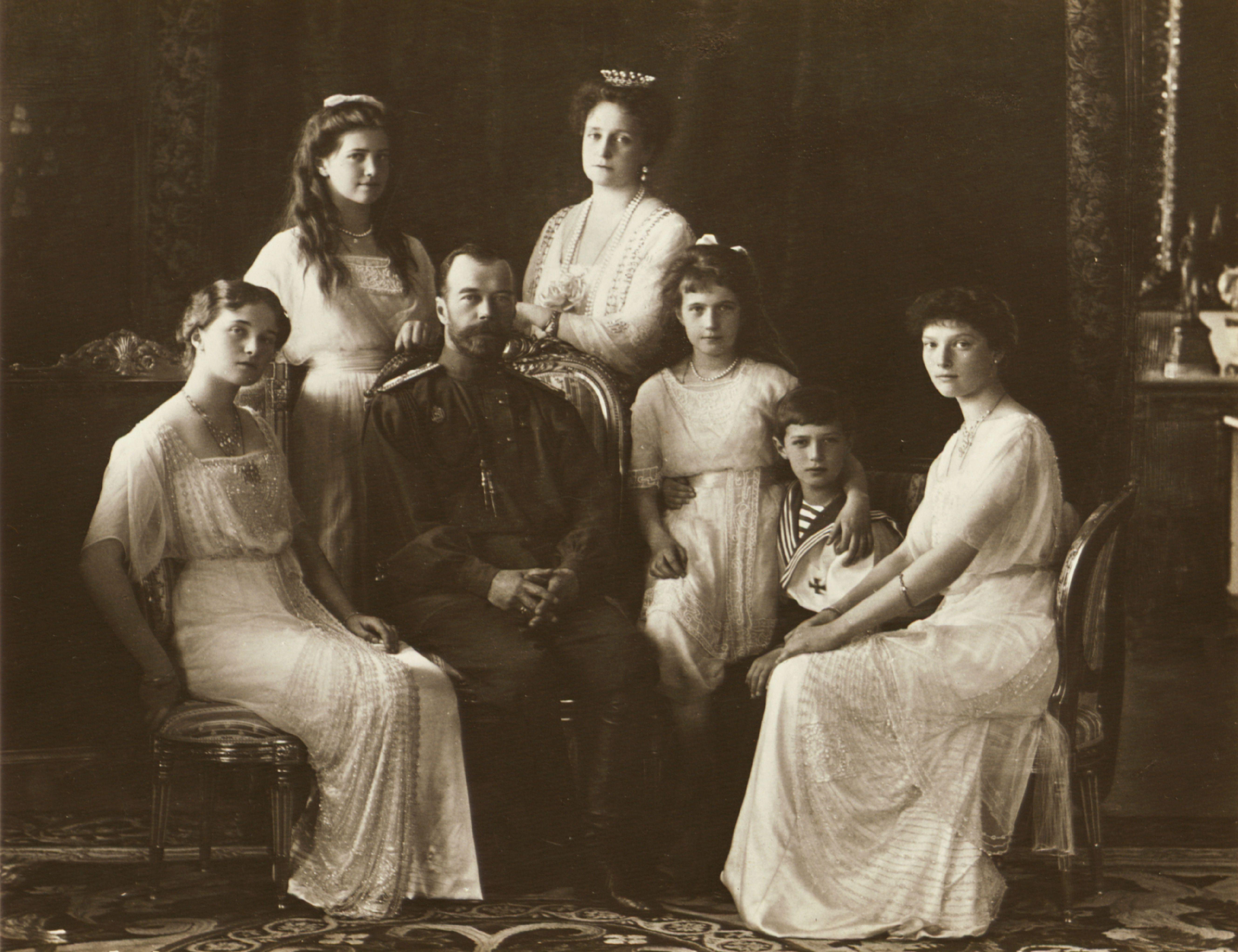 The Family Of Tsar Nicholas Ii Of Russia