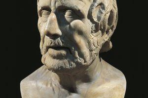 dab634c73f992 Marble bust of Lucius Annaeus Seneca.