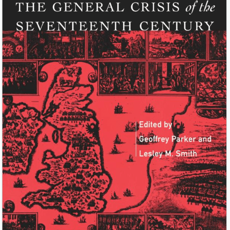 La crisis general del siglo XVII editado por Geoffrey Parker