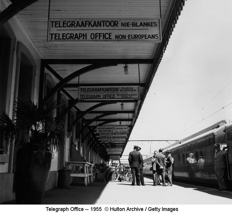 Telegraph Office signs 1955
