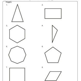 Polygons worksheet.