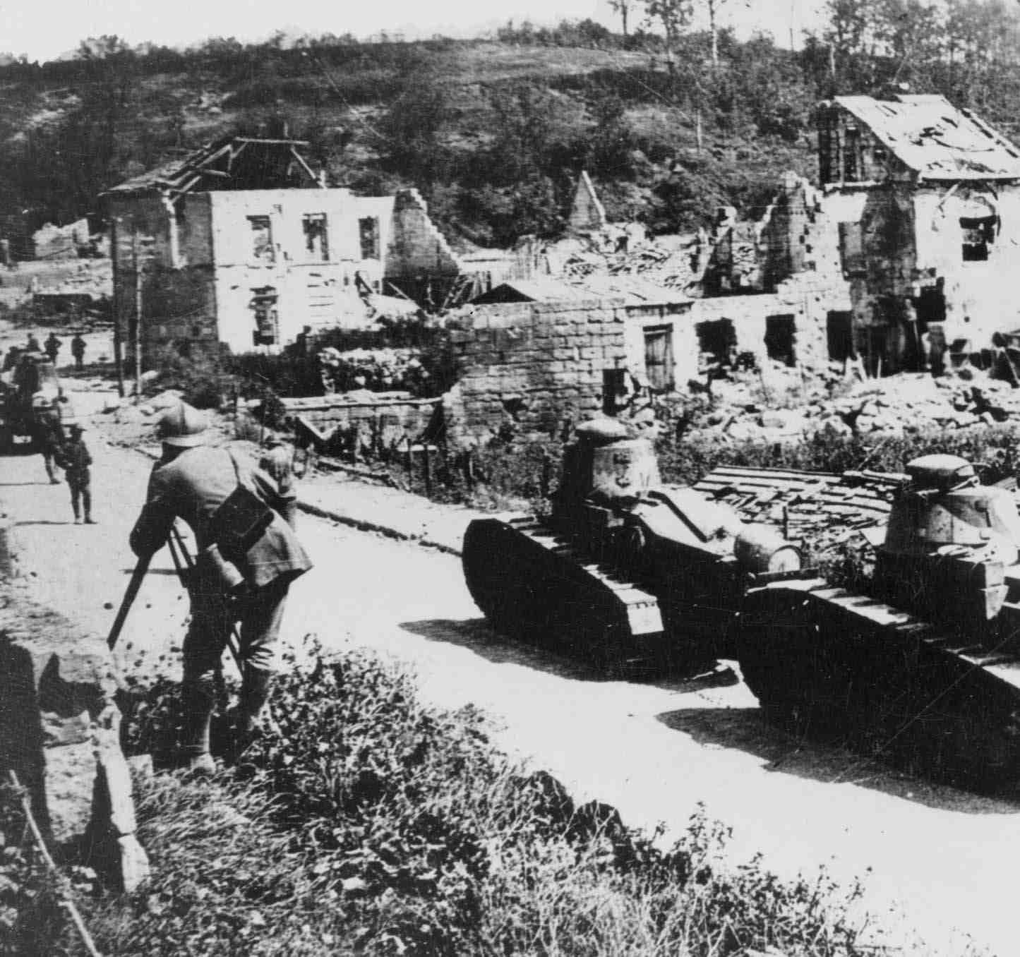 Renault FTs at Vaux