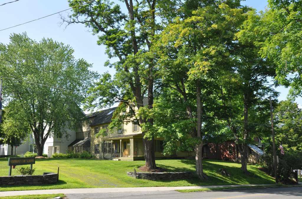 Vermont Law School campus, in the South Royalton Historic District, Royalton, Vermont