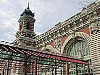 Ellis Island Immigration Center on Ellis Island New York
