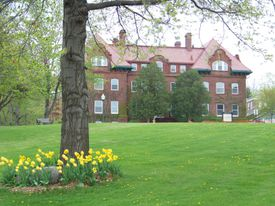 Zabriskie Hall, Wells College, Aurora, New York