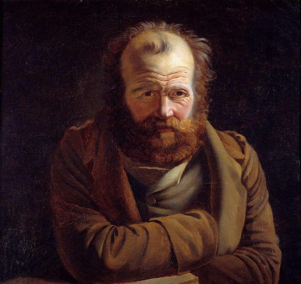 Portrait of Pierre Joseph Proudhon (1809-1865).