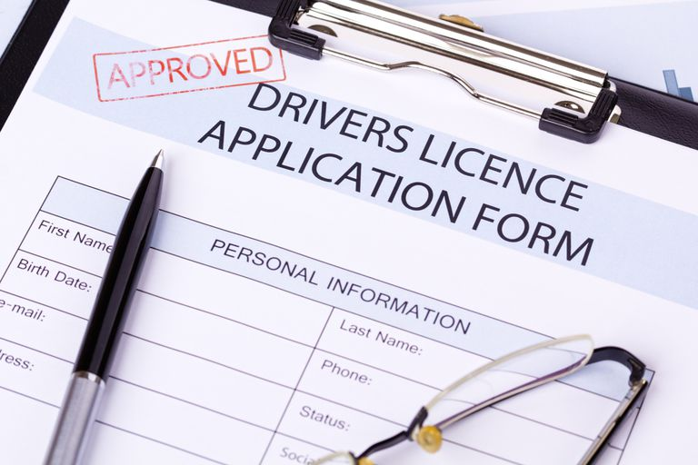 Drivers Licence Application Form