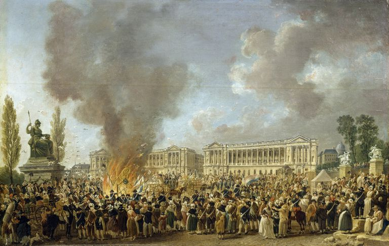 The Celebration of Unity during the French Revolution