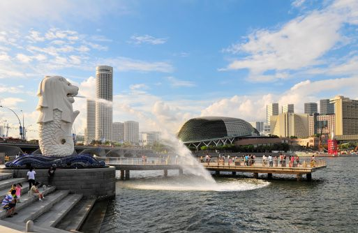 Singapore's waterfront theater district