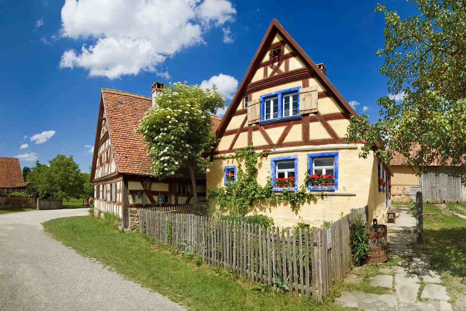 Traditional German cottage.