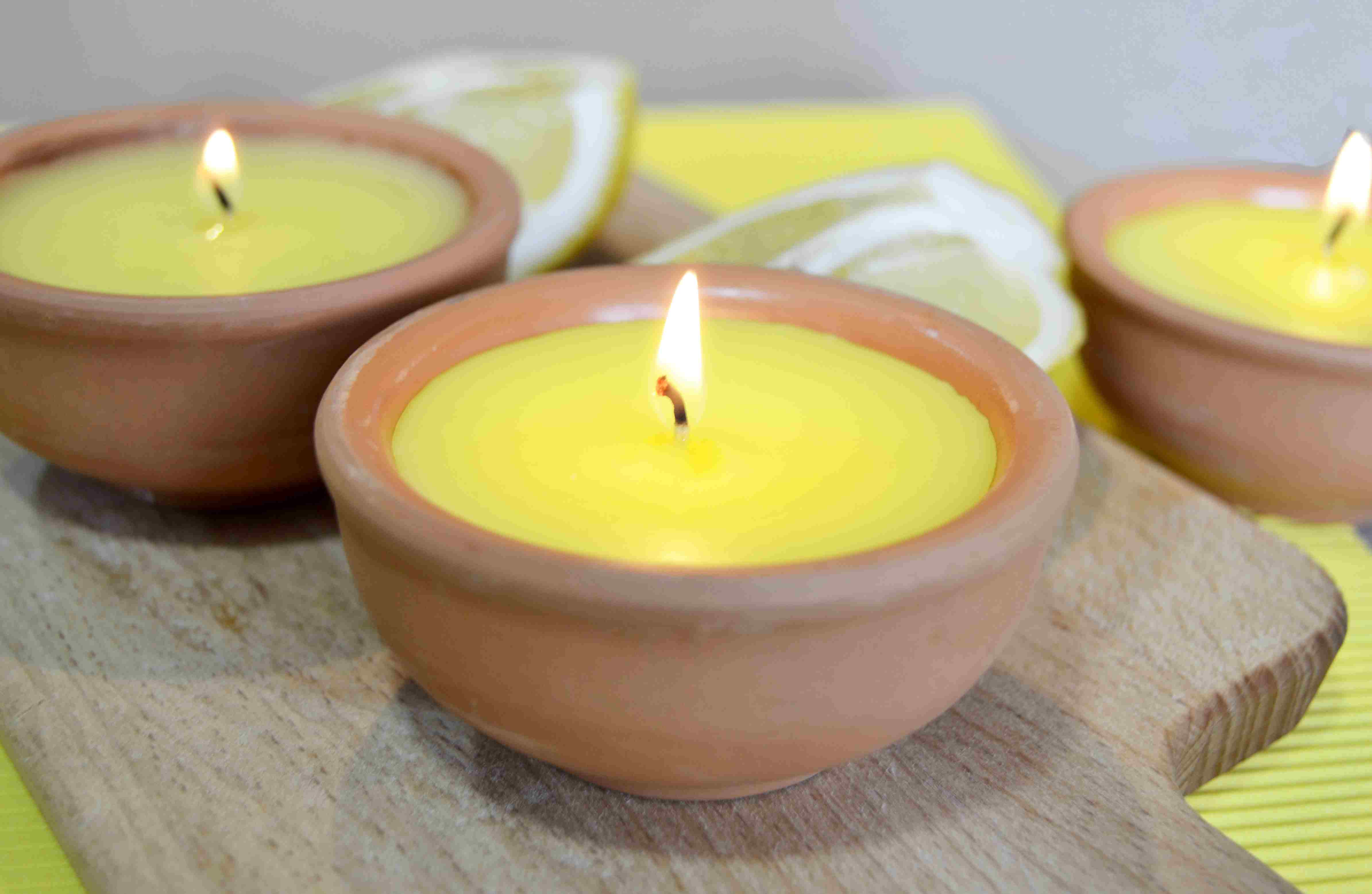 It's the smoke from citronella candles that repels mosquitoes, not the compound. The carbon dioxide from combustion actually attracts them.