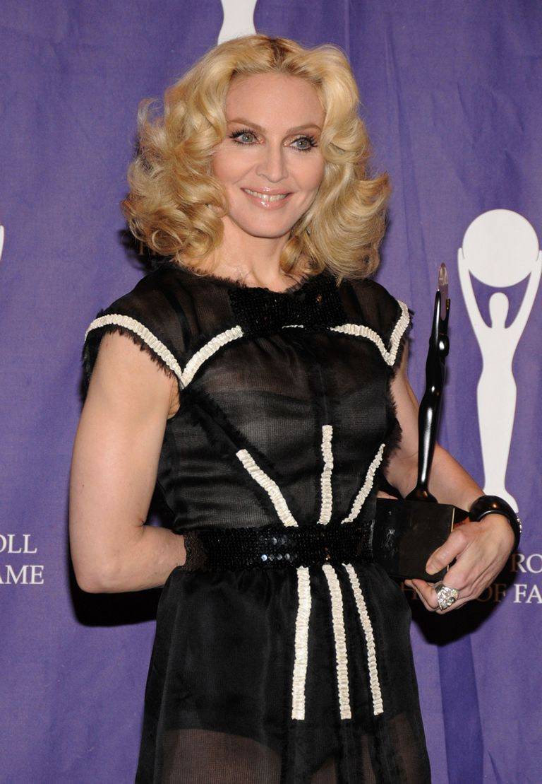 Madonna at Rock and Roll Hall of Fame Induction Ceremony, 2008