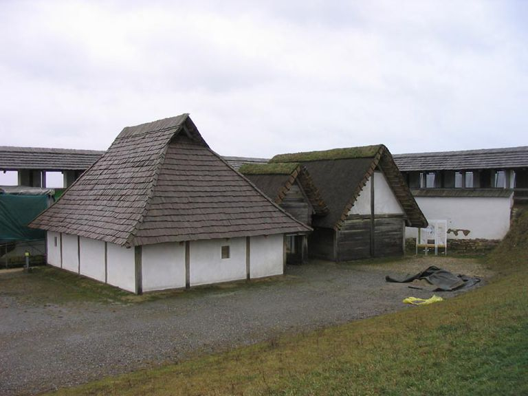 Heuneburg Hillfort - Reconstructed Living Iron Age Village