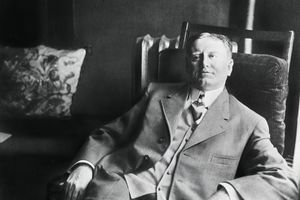 A portrait of William Sydney Porter, who was also known as O. Henry.