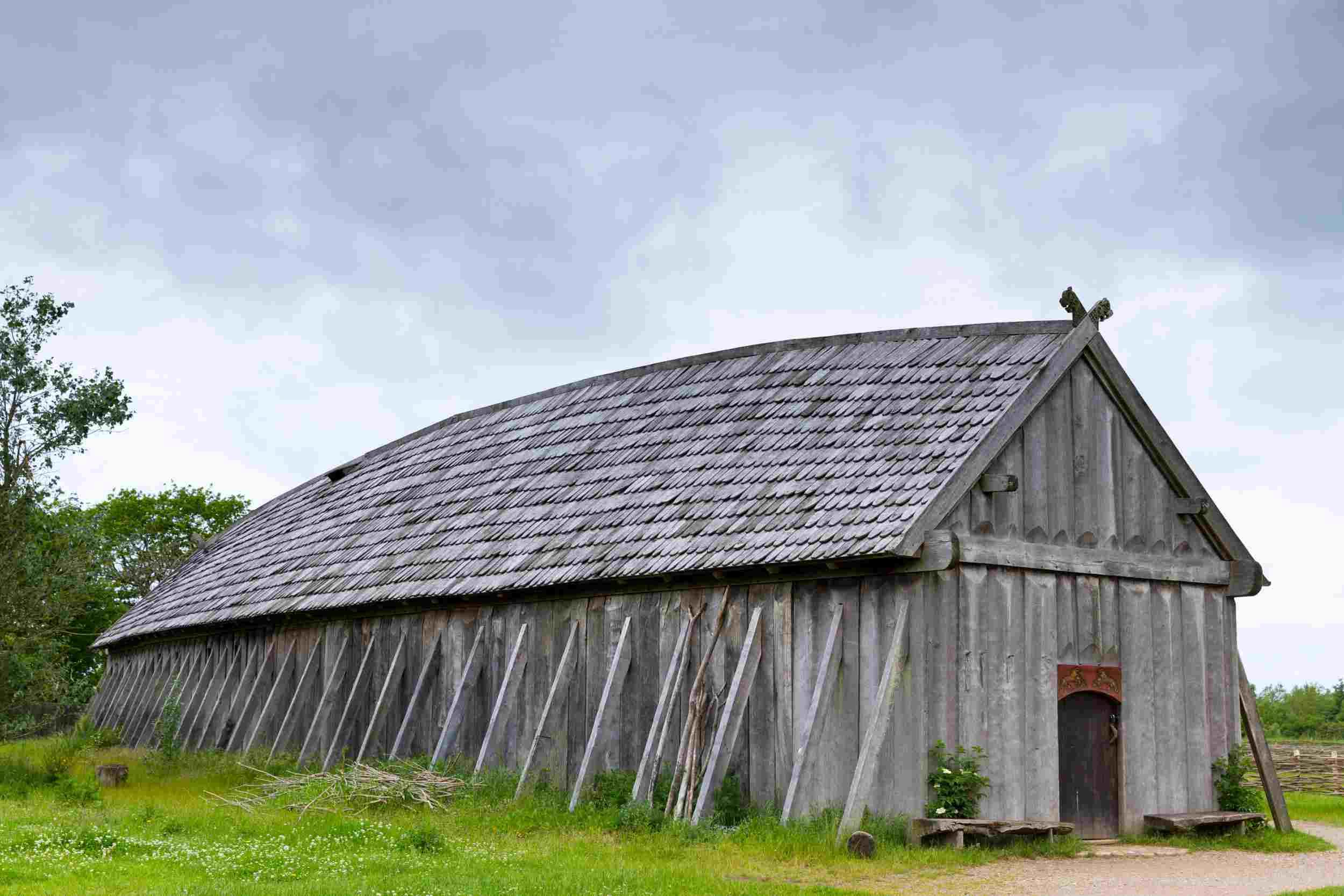 Viking Longhouse Reconstruction at Ribe