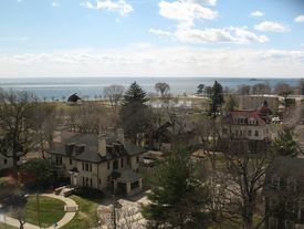 University of Bridgeport - View from the Library