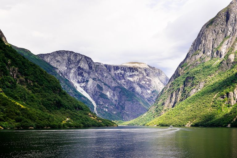 Beautiful view of the fjord in Norway