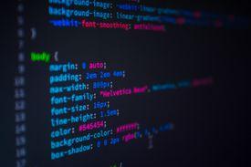 CSS stylesheet on a computer screen