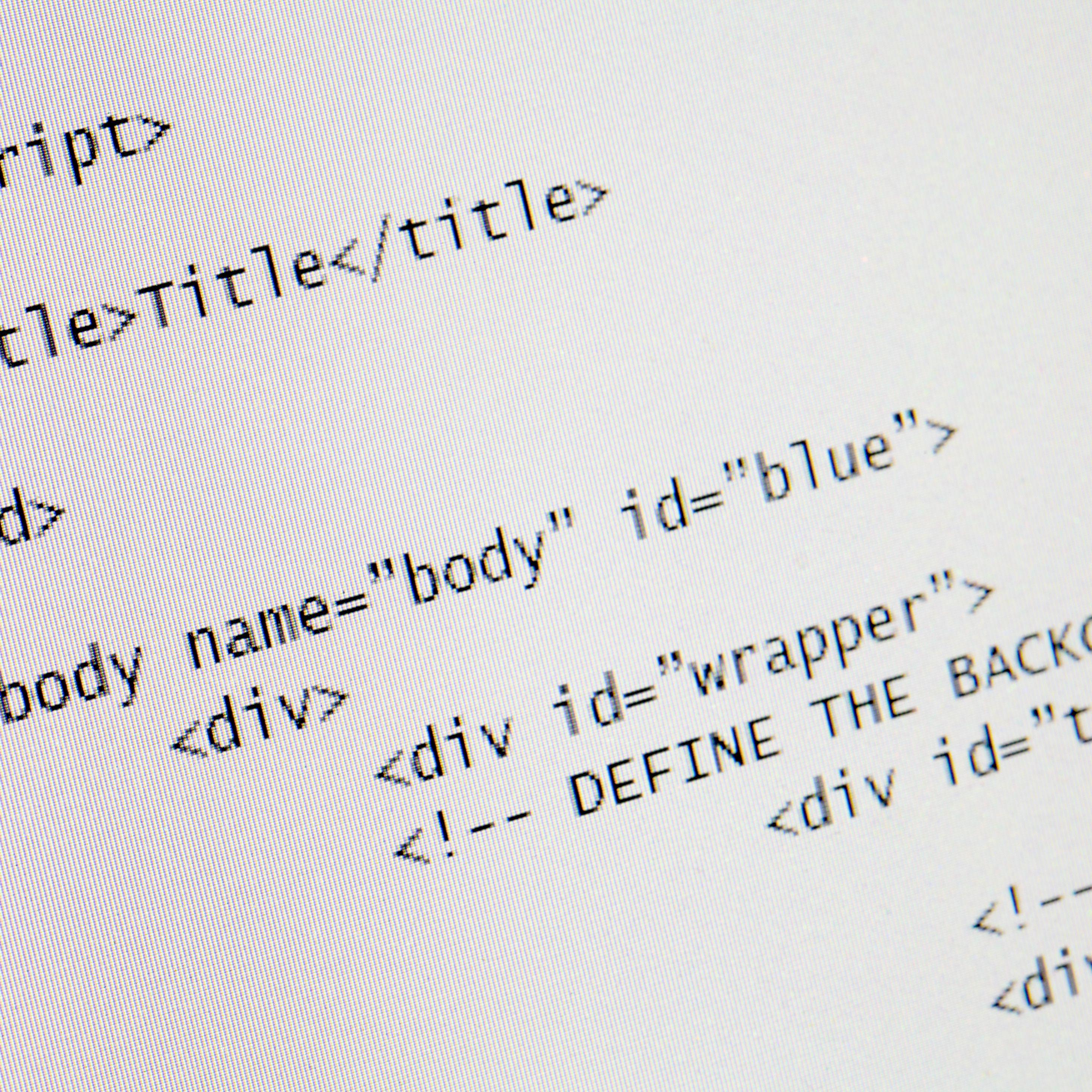HTML Singleton Tags With No Closing Tag