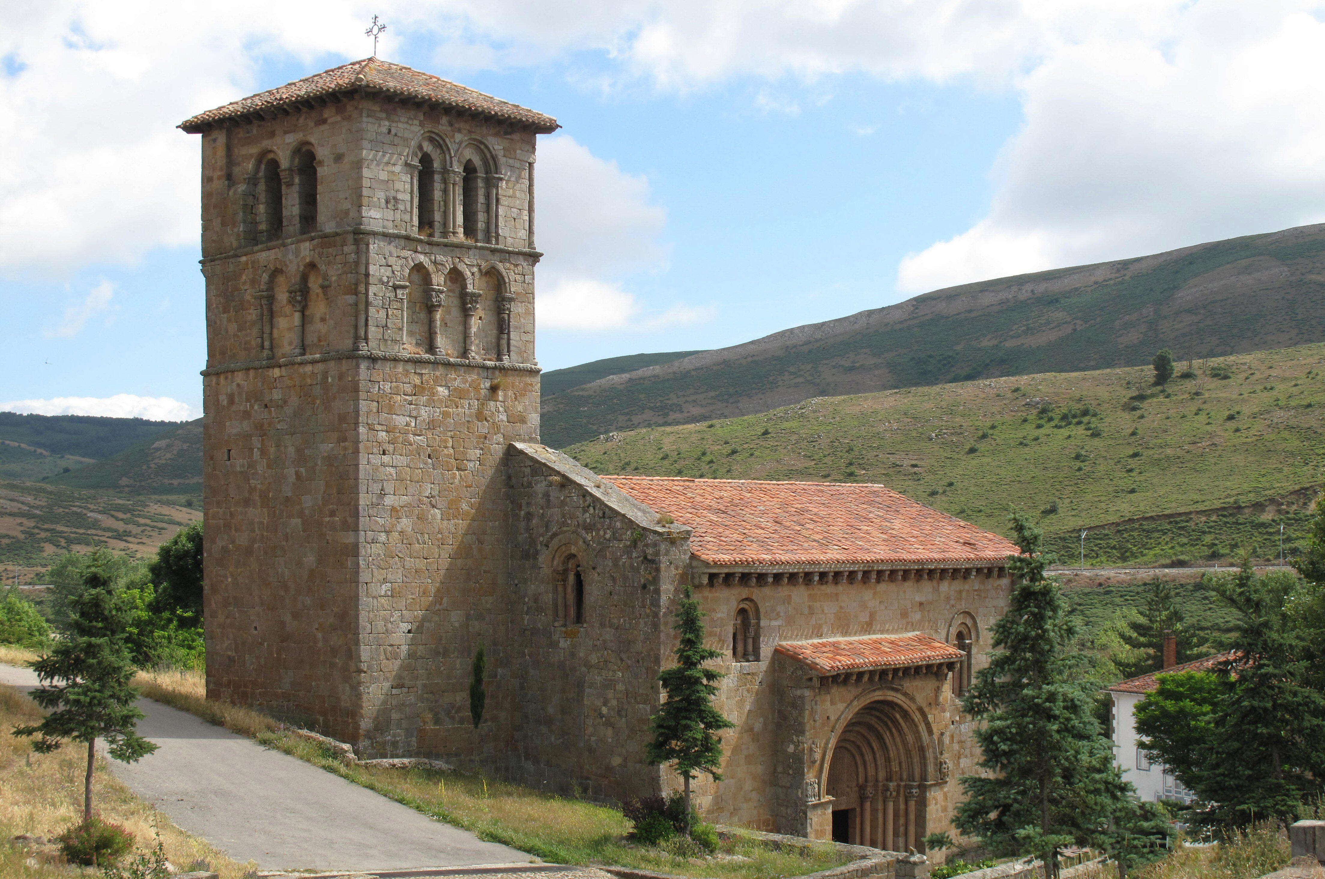 Romanesque Collegiate Church of St Peter in Cervatos, Cantabria, Spain