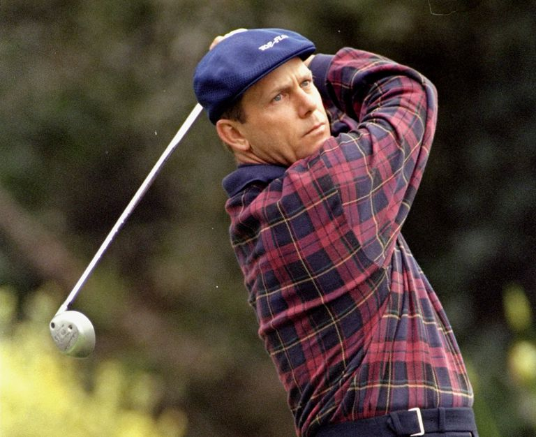 Golfer Payne Stewart during the 1998 US Open