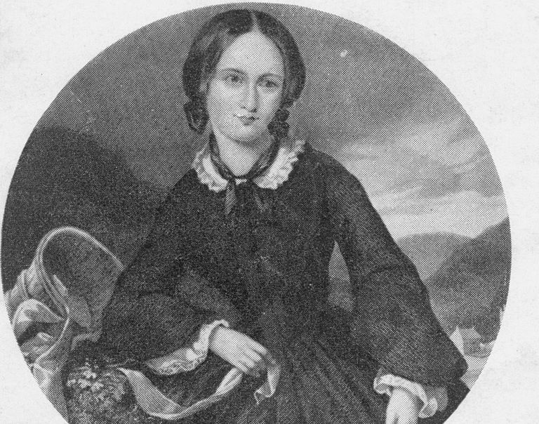 Portrait of Emily Bronte