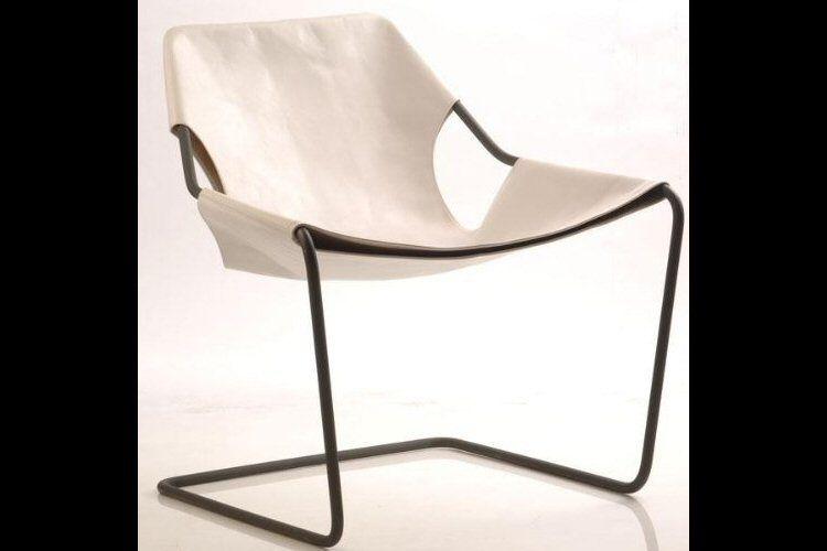 Paulistano Armchair designed by Brazilian architect Paulo Mendes da Rocha