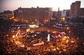 Tahrir Square during the 2011 Arab Spring