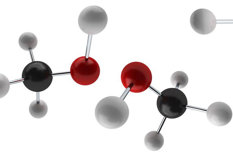 Models of methanol molecules