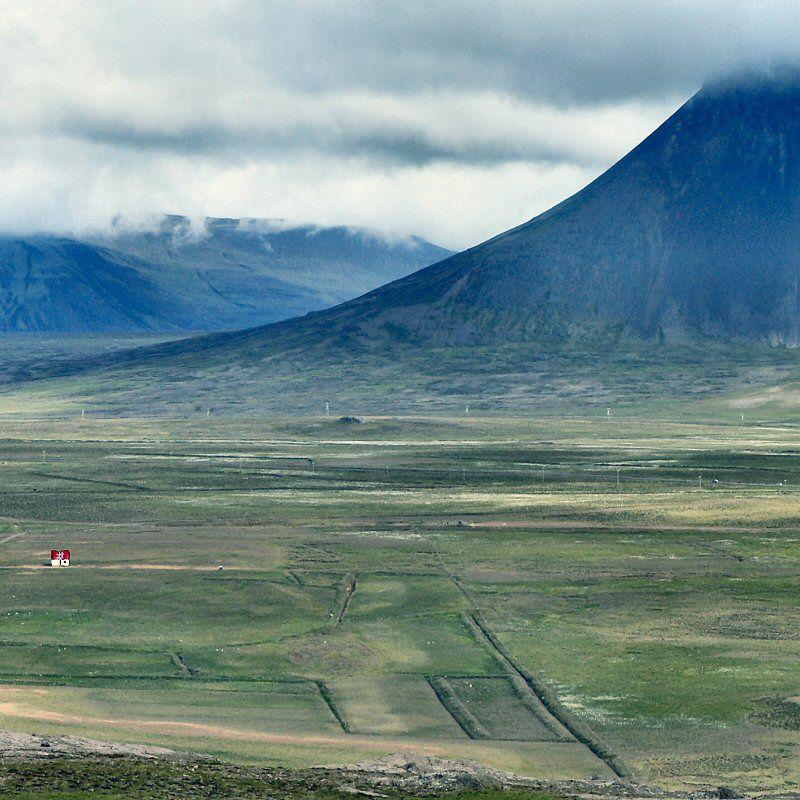 Iceland Vista taken from Borgarvirki in Vestur-Húnavatnssýsla