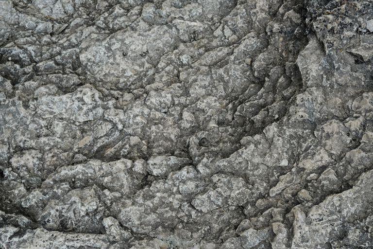 pattern in a limestone mountain