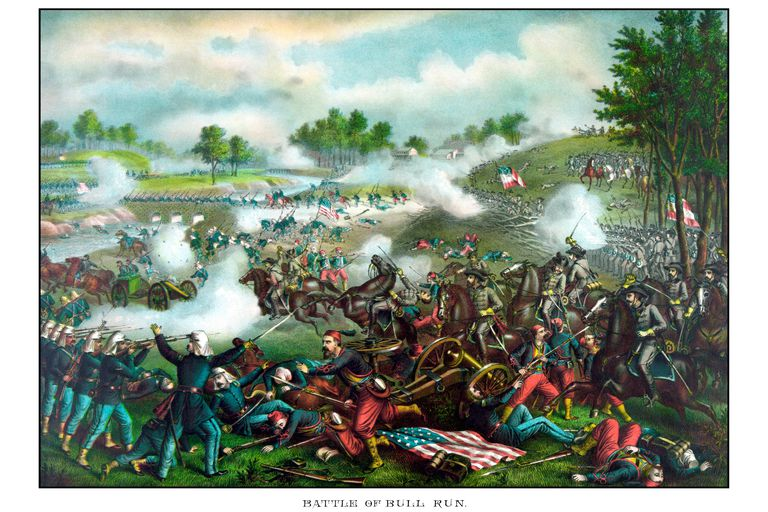 Battle of Bull Run (Battle of Manassas), 1861